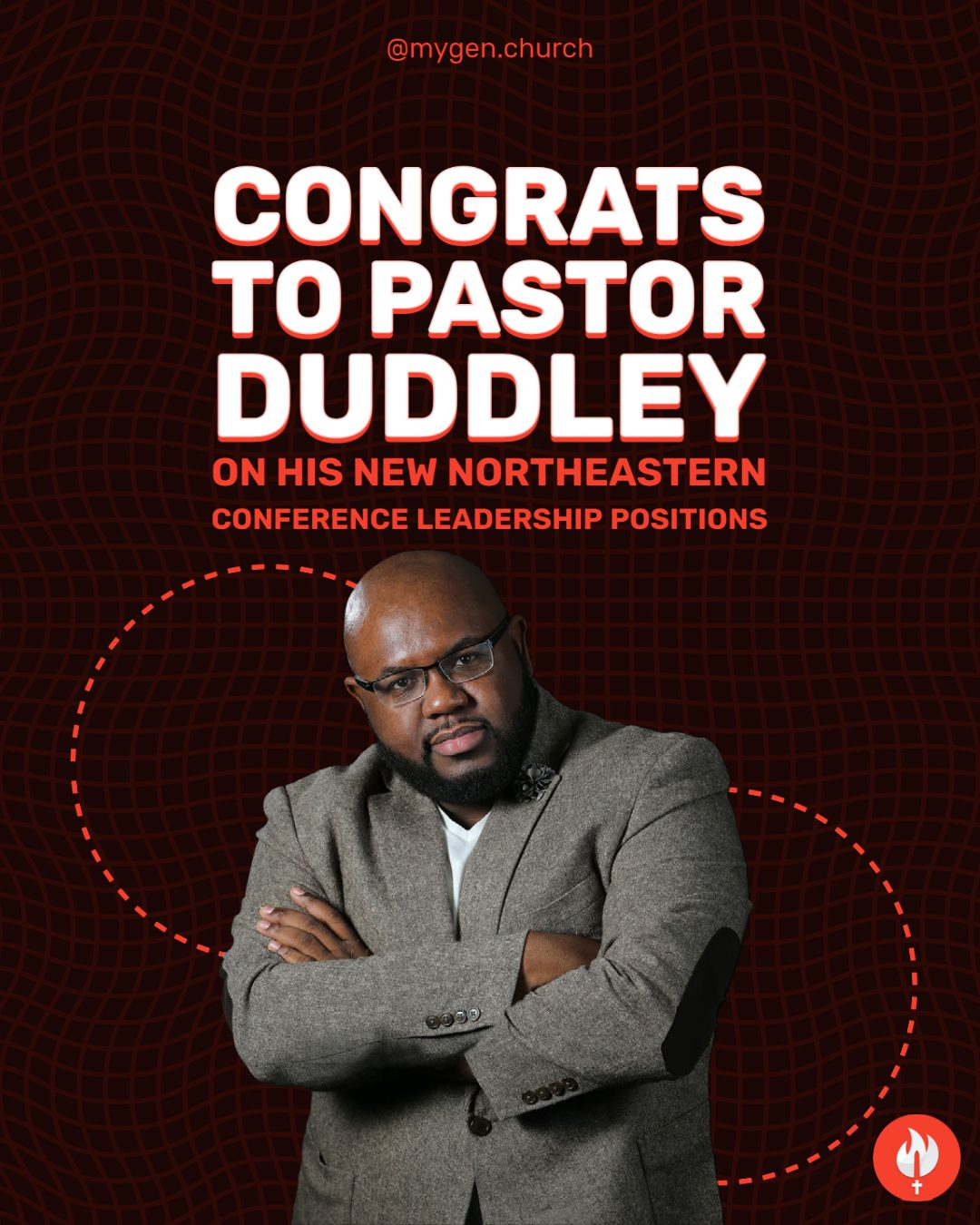 """Featured image for """"Congrats to Pastor Duddley"""""""