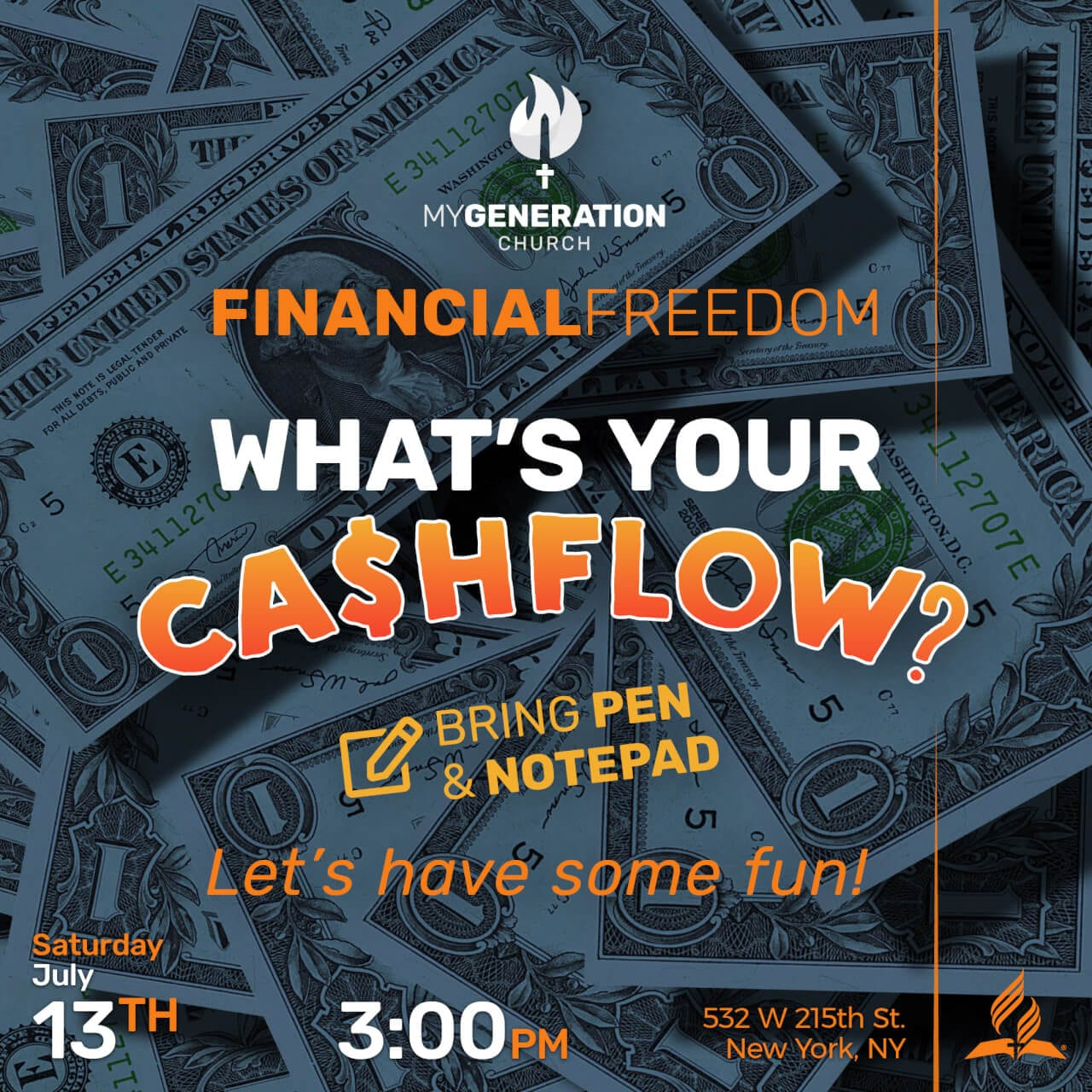 Financial Freedom - What's Your Cashflow?