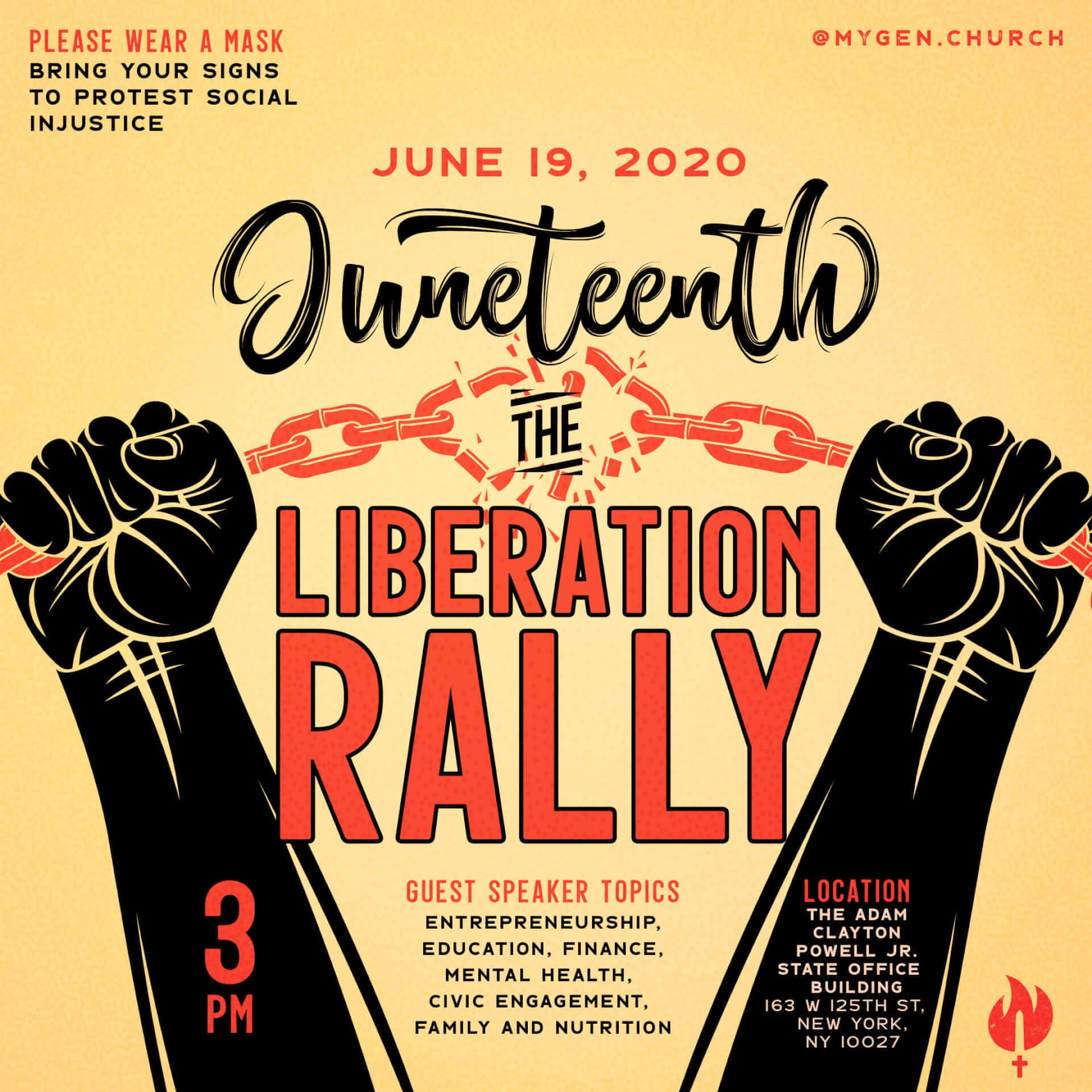 Juneteenth: The Liberation Rally