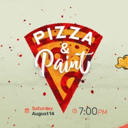 Pizza & Paint Fundraiser at MyGeneration Church