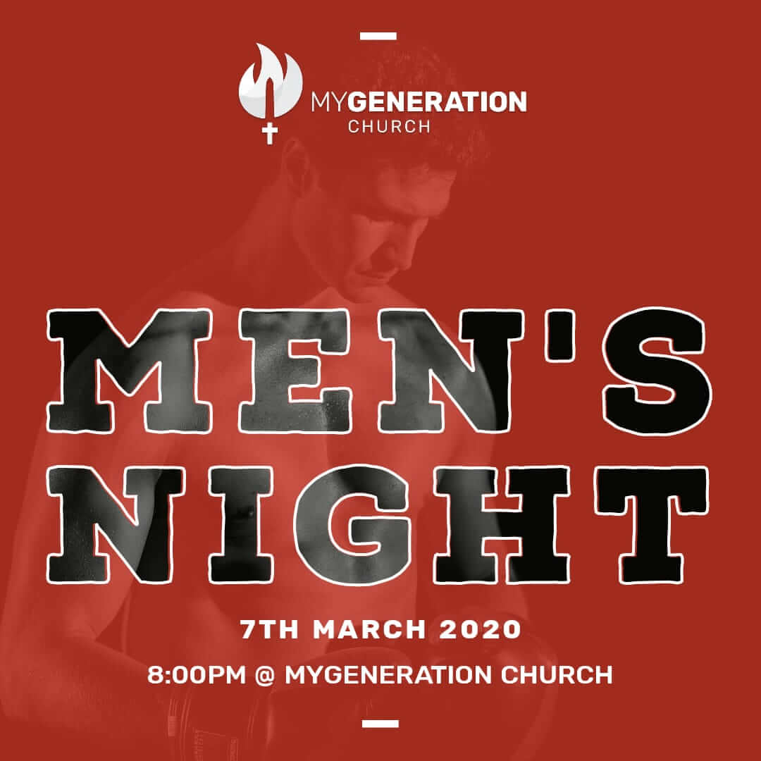 Mens Night - MyGeneration Church