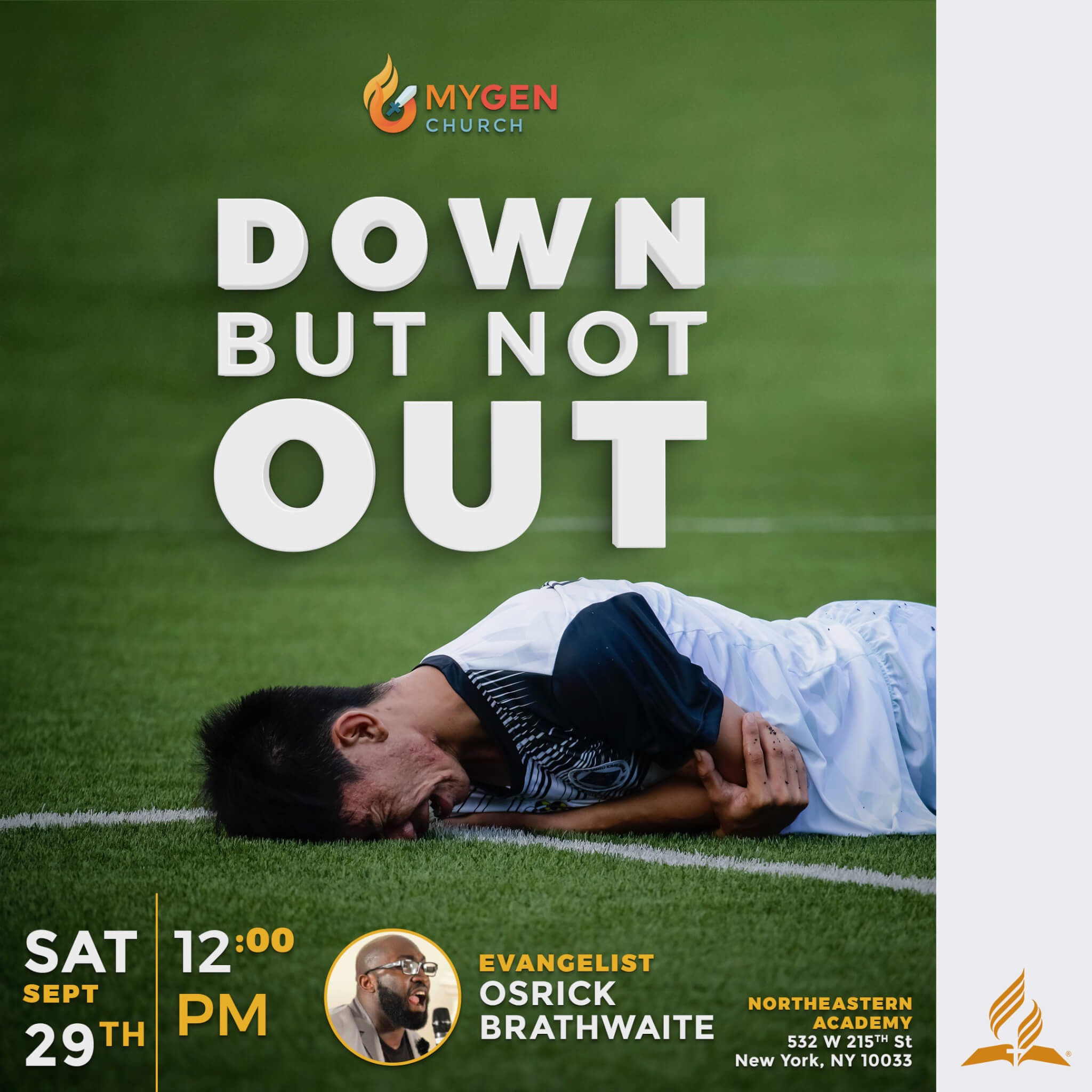 Down But Not Out - MYGEN Church Service - 09-29-18