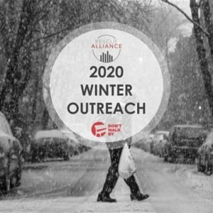 Don't Walk By 2020 Winter Outreach