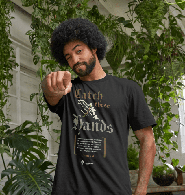 Catch These Hands - Adult T-Shirt