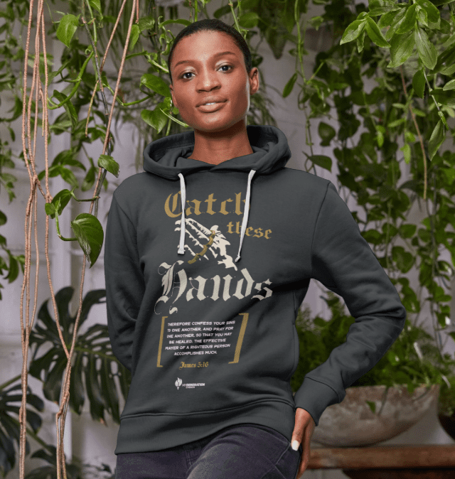 Catch These Hands - Womens Pullover Hoodie