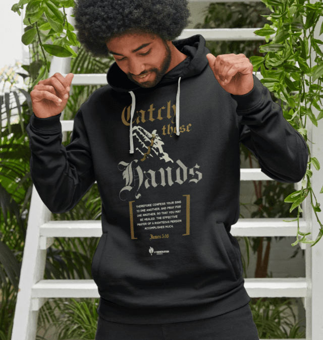 Catch These Hands - Mens Pullover Hoodie