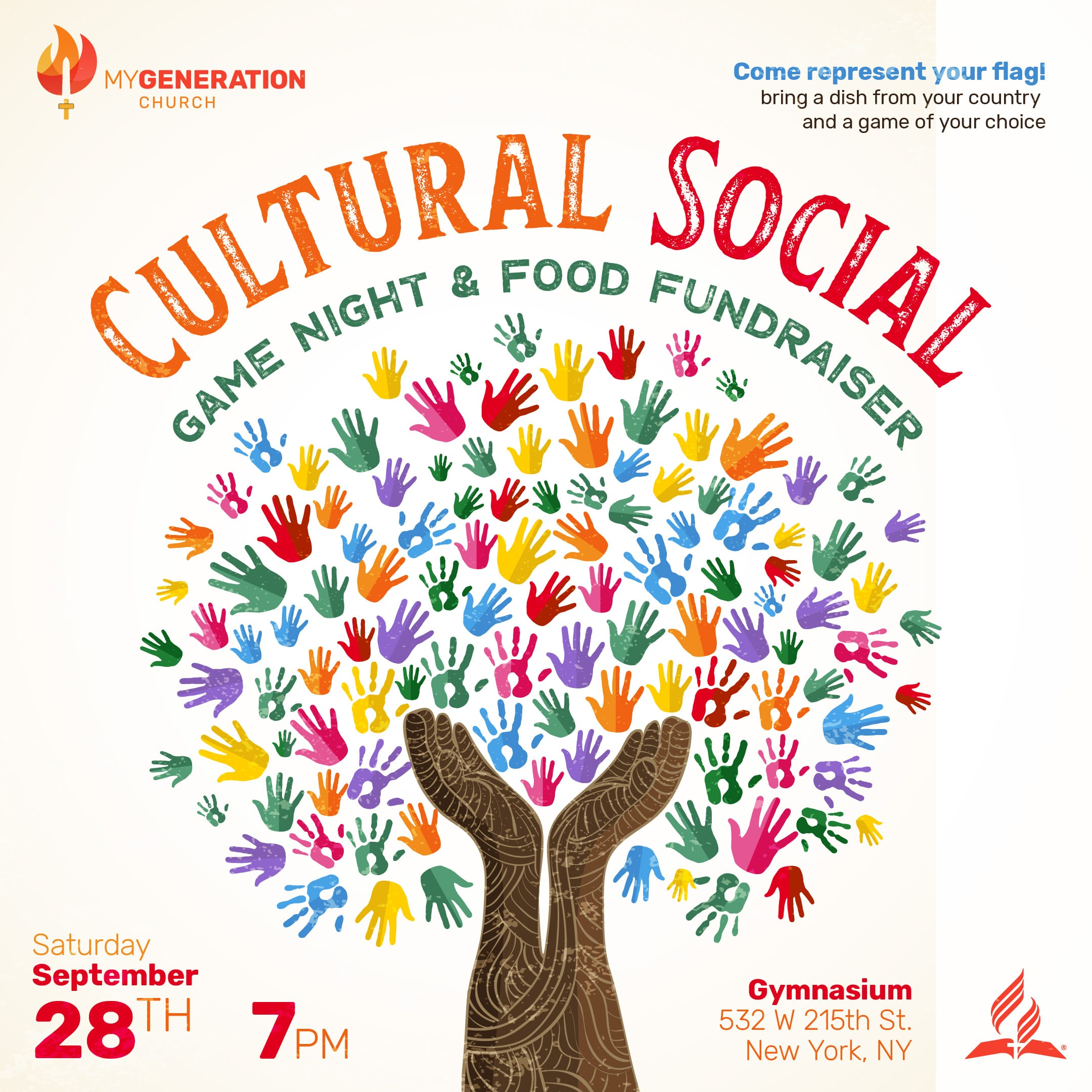 Cultural Social game night & food fundraiser