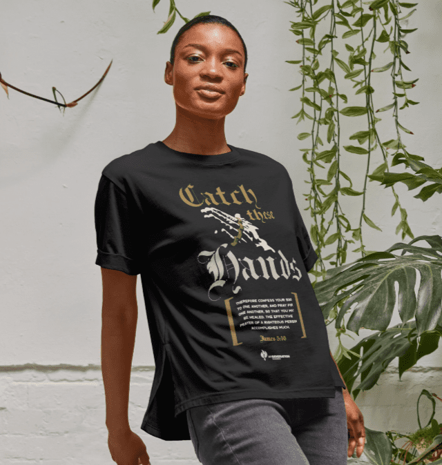 Catch These Hands - Womens Relaxed Fit T-Shirt