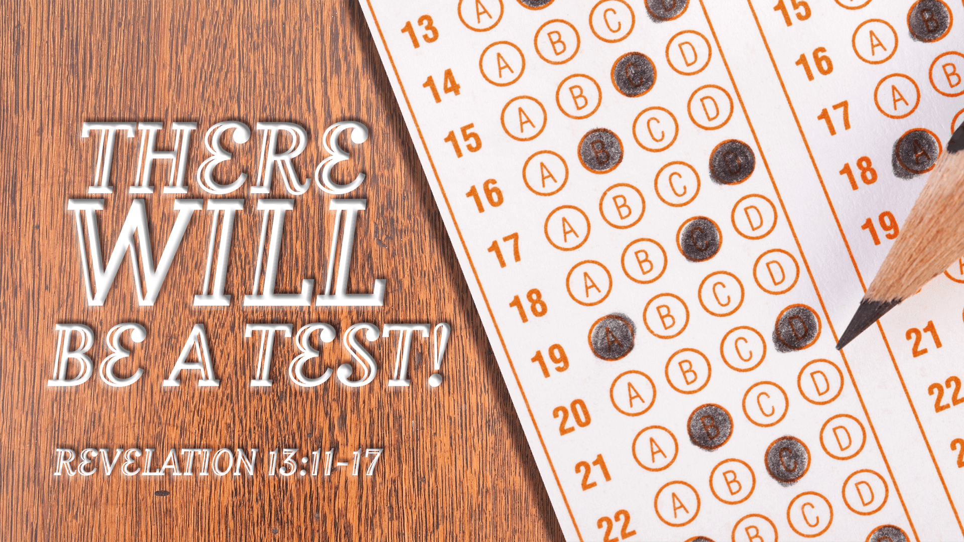 There WILL Be A Test!