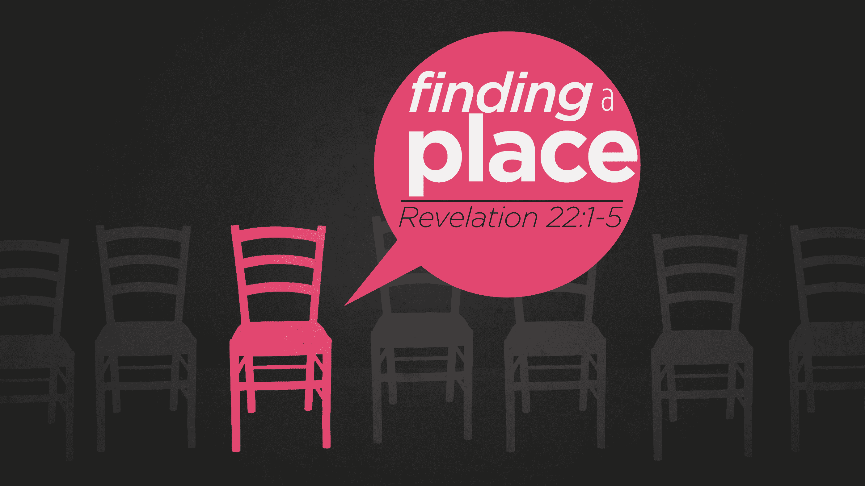 Finding A Place