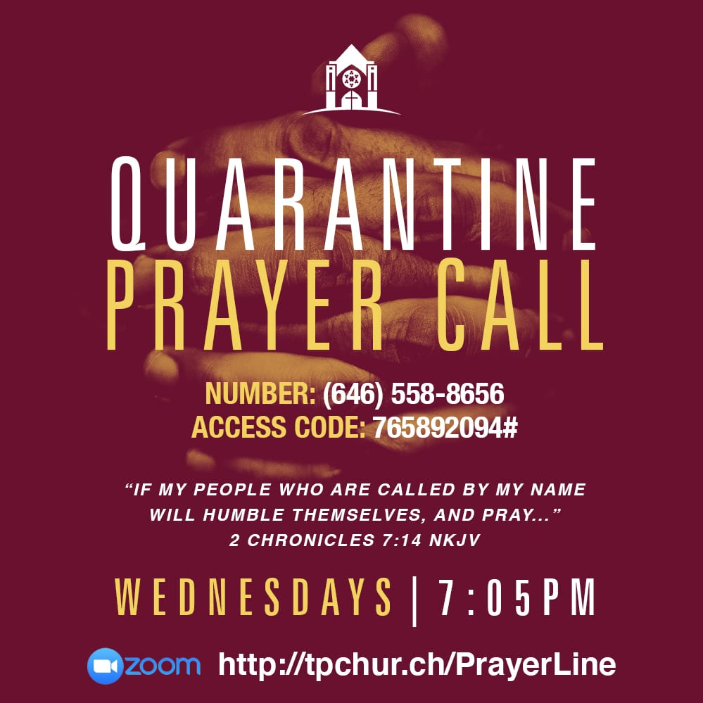 Weekly Prayer Call